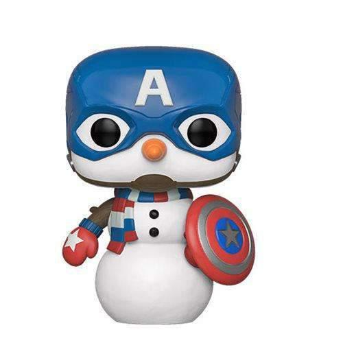 Marvel Holiday Captain America Pop! Vinyl Figure (Pre-Order)