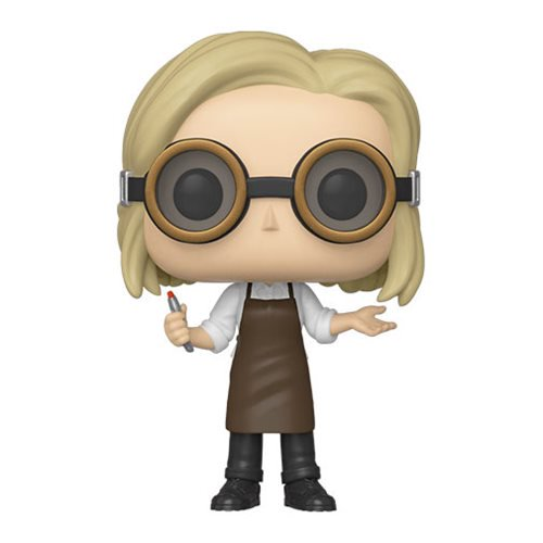 Funko Pop! Movies: Doctor Who 13th Doctor with Goggles Pop! Vinyl Figure (Pre-Order)