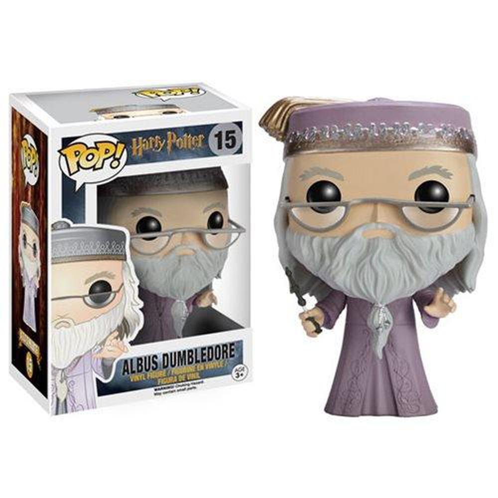 Funko Pop! Harry Potter: Harry Potter Dumbledore with Wand Pop! Vinyl Figure-Fumble Pop!