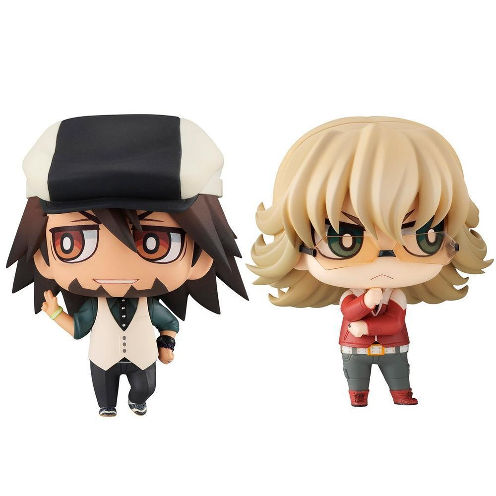 Megahouse CHIMIMEGA BUDDY SERIES TIGER&BUNNY KOTETSU & BARNABY SET (RE-OPENING FOR PRE-ORDER) (Pre-Order)-Fumble Pop!