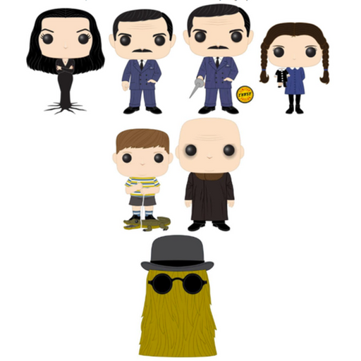 Funko Pop! Television: The Addams Family Complete Set of 7 CHASE Included (Pre-Order)-Fumble Pop!