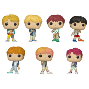 Funko Pop! Music: BTS Funko Pop! Complete Set of 7 (Pre-Order)-Fumble Pop!