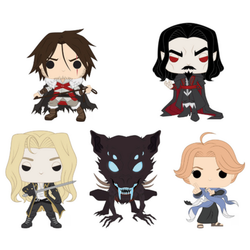 Funko Pop! Video Games: Castlevania Funko Pop! Complete Set of 5 (Pre-Order)-Fumble Pop!