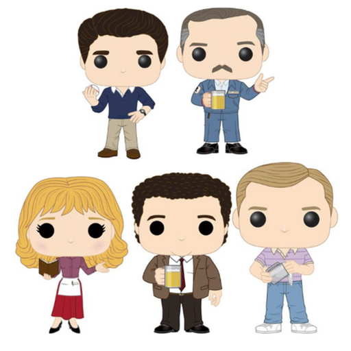 Funko Pop! Television: Cheers Complete Set of 5 (Pre-Order)-Fumble Pop!