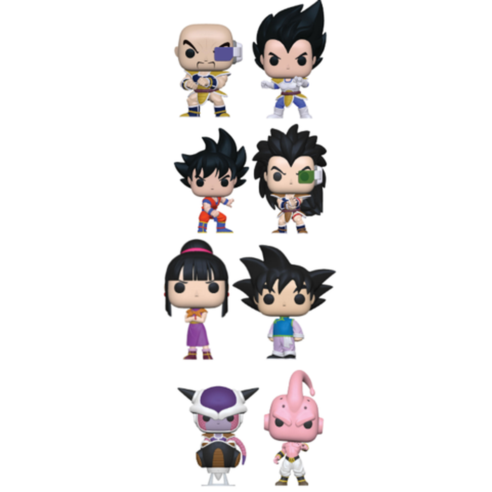 Funko Pop! Anime: Dragon Ball Z Complete Set Of 8 (Pre-Order)-Fumble Pop!