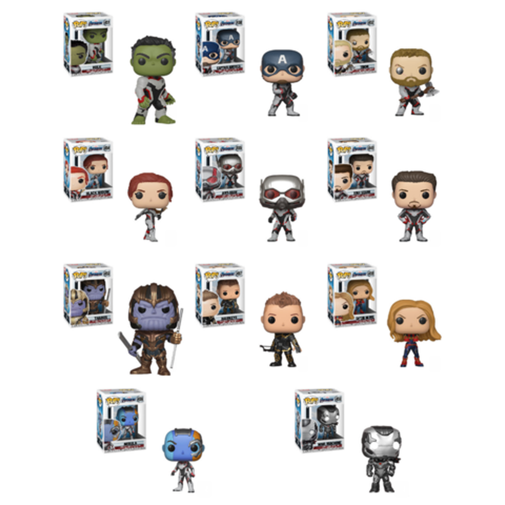Funko Pop Movie: Avengers Endgame Funko Pop! Complete Set of 11 (Pre-Order)-Fumble Pop!