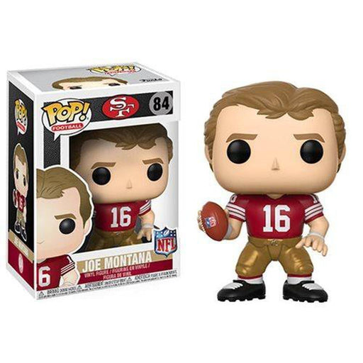 Funko Pop! Football NFL San Francisco 49ers Sports Joe Montana Vinyl Figure #84 (Pre-Order)-Fumble Pop!