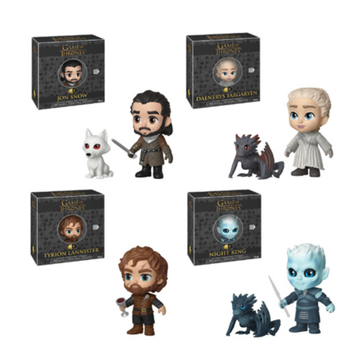 Funko 5 Star! Television: Game of Thrones 5 Star Complete Set Of 4 (Pre-Order)-Fumble Pop!