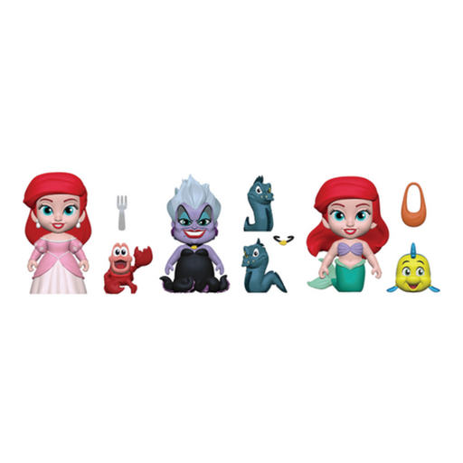 Funko 5 Star! Animation: Little Mermaid 5 Star Complete Set Of 3 Vinyl Figure (Pre-Order)-Fumble Pop!