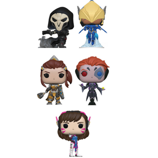 Funko Pop! Games: Overwatch Complete Set Of 5 Regular Sized Wave 5 (Pre-Order)-Fumble Pop!