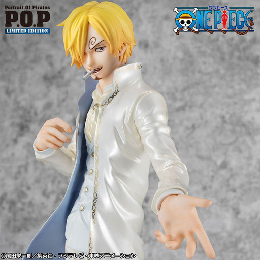 "Megahouse Portrait.Of.Pirates ONE PIECE ""LIMITED EDITION"" SANJI Ver.WD"