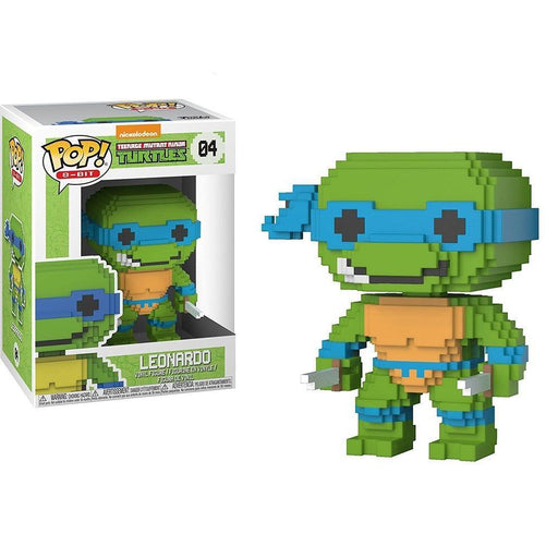 Funko Pop! Teenage Mutant Ninja Turtles - Leonardo Funko 8-Bit Pop! Funko Vinyl Figure-Fumble Pop!