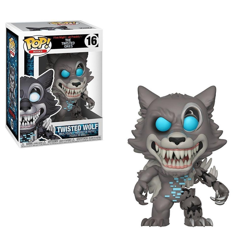 Funko Pop! Games: Five Nights At Freddy- Twisted Wolf (Vinyl Figure)-Fumble Pop!