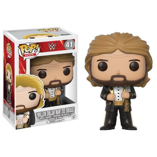 FUNKO POP! WWE: S6 - Million Dollar Man Old School (Vinyl Figure)-Fumble Pop!
