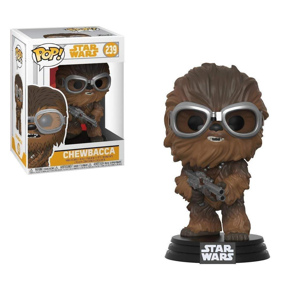 Funko Pop! Movies! Star Wars: Solo - Chewie with Goggles (Pre-Order)-Fumble Pop!