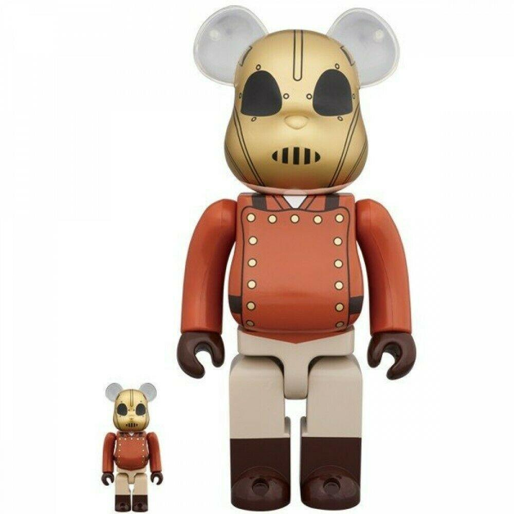 MEDICOM TOY BE@RBRICK THE ROCKETEER 100%&400% set BE@RBRICK-Fumble Pop!