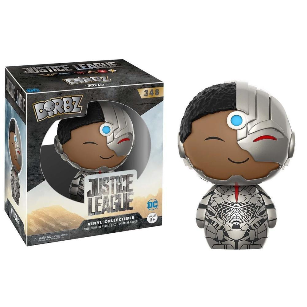 Funko Pop! Dorbz: DC- Justice League - Cyborg (Vinyl Figure)-Fumble Pop!