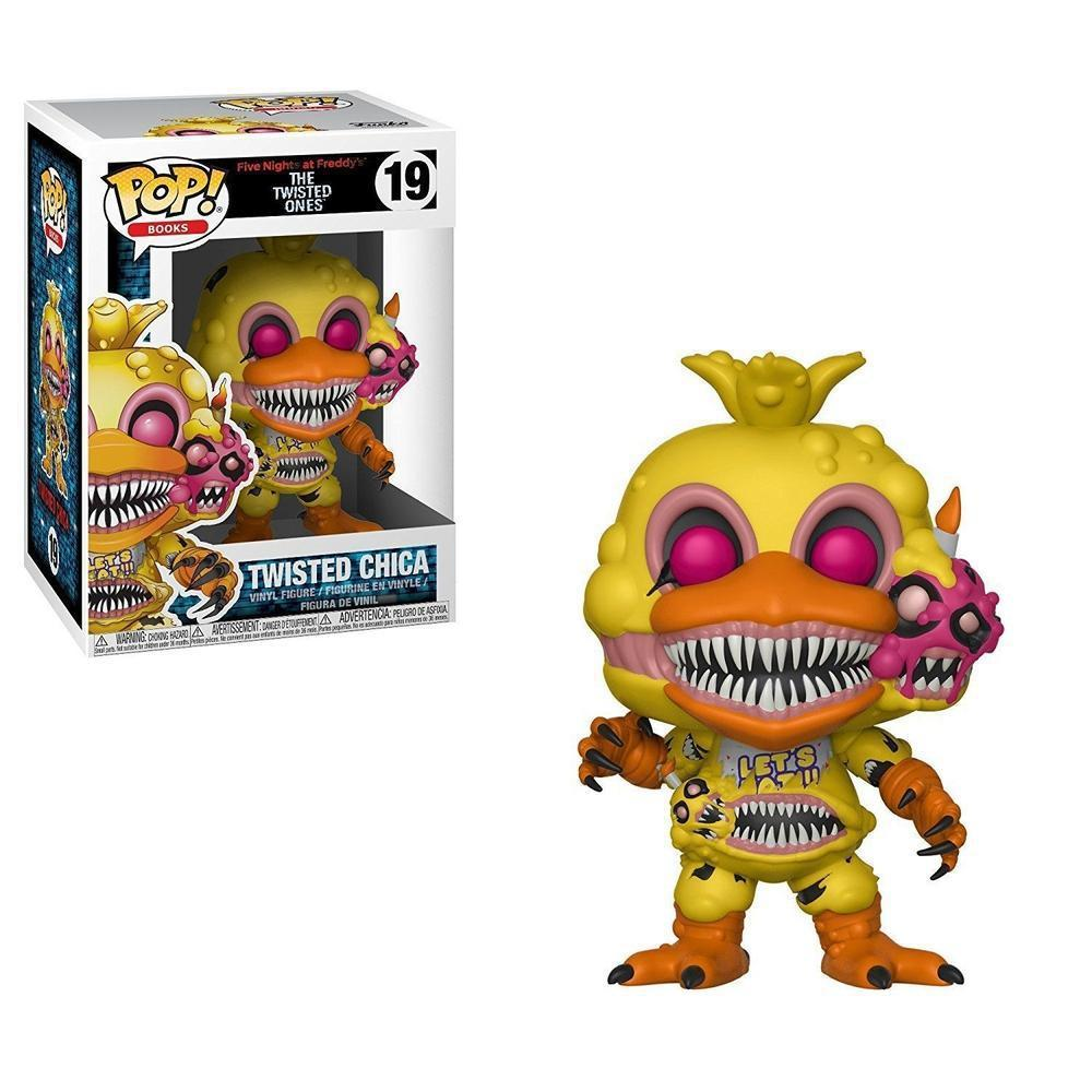 Funko Pop! Games: Five Nights At Freddy - Twisted Chica (Vinyl Figure)-Fumble Pop!