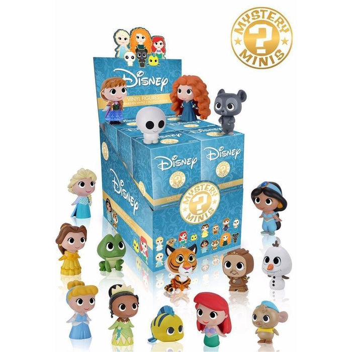 Funko Pop! Mystery Minis: Disney Princess Blind Box (One Figure Per Purchase)-Fumble Pop!