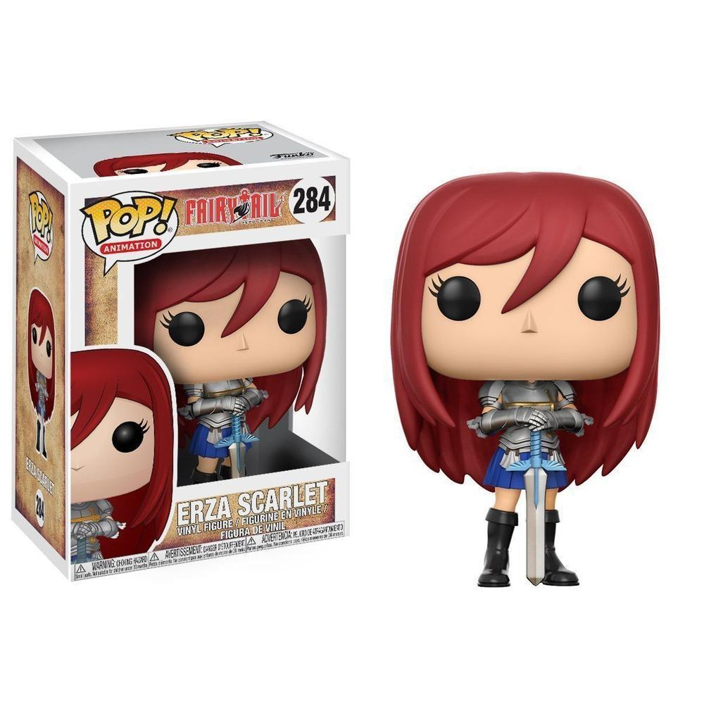 Funko Pop! Anime: Fairy Tail S2- Erza Scarlet-Fumble Pop!