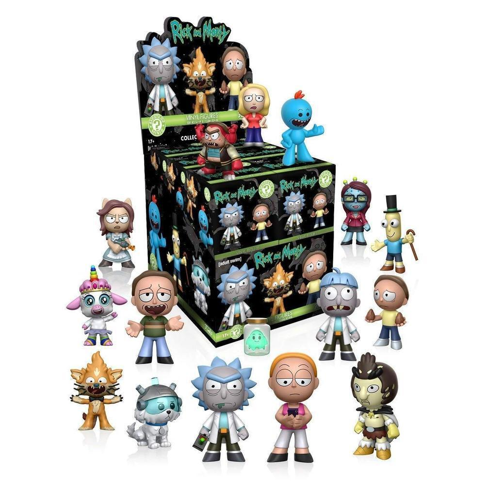 Funko Pop! Mystery Minis: Rick and Morty S1 -12PC (One Figure Per Purchase) (Vinyl Figure)-Fumble Pop!
