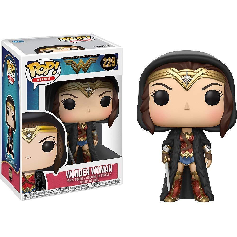 Funko Pop! Heroes: DC - Wonder Woman S2 - Cloak (Vinyl Figure)-Fumble Pop!