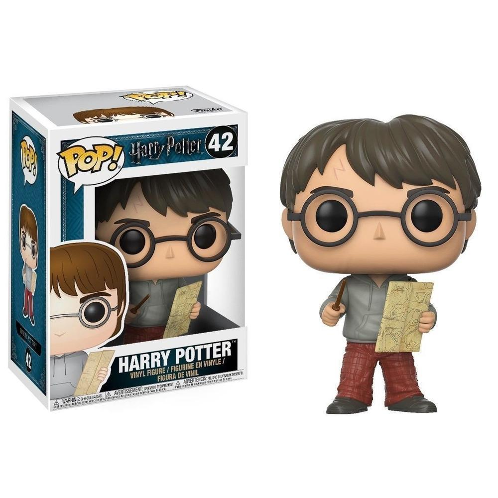 Funko POP Harry Potter: HP - Harry w/ Marauders Map-Fumble Pop!