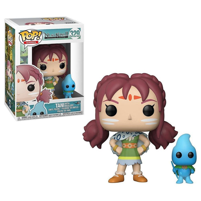 Funko Pop! POP & Buddy: Ni No Kuni S1 - Tani w/ Higgledy-Fumble Pop!