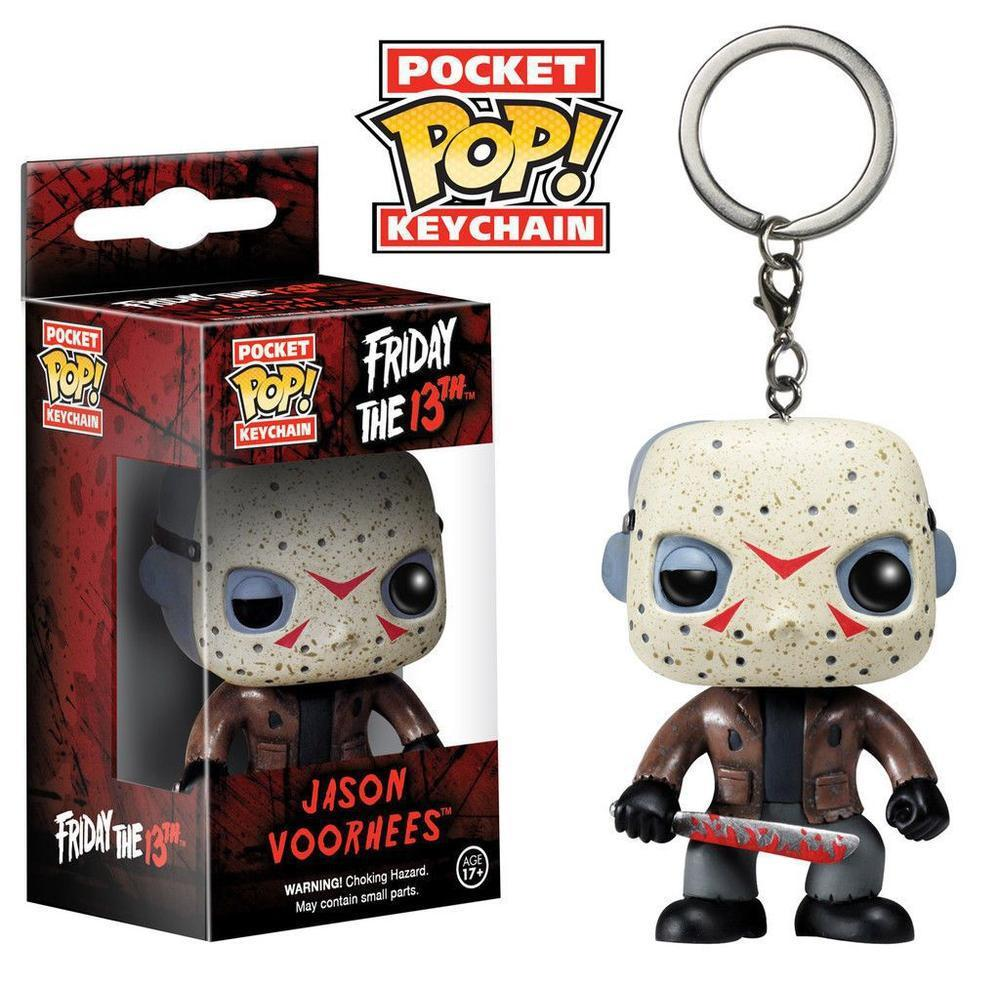 Funko Pop! Keychain: Horror - Jason Voorhees (Limited Edition, Keychain)-Fumble Pop!