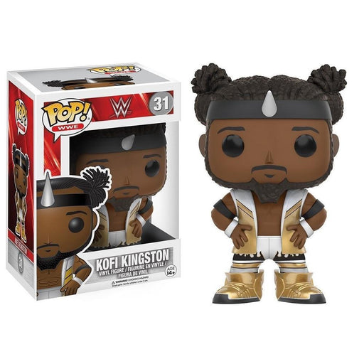 Funko Pop! Sport: WWE: Kofi Kingston (Vinyl Figure)-Fumble Pop!