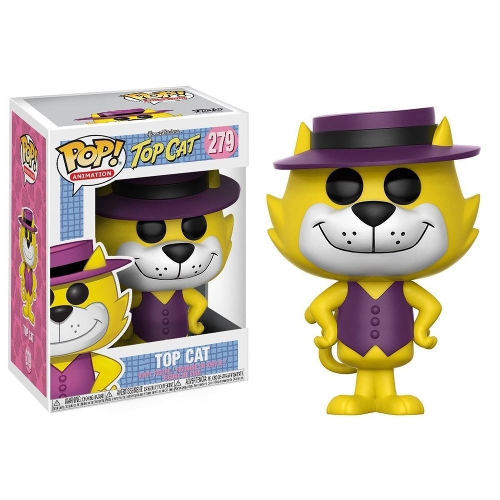 Funko Pop! Animation: Hanna Barbera W4 - Top Cat (Vinyl Figure)-Fumble Pop!