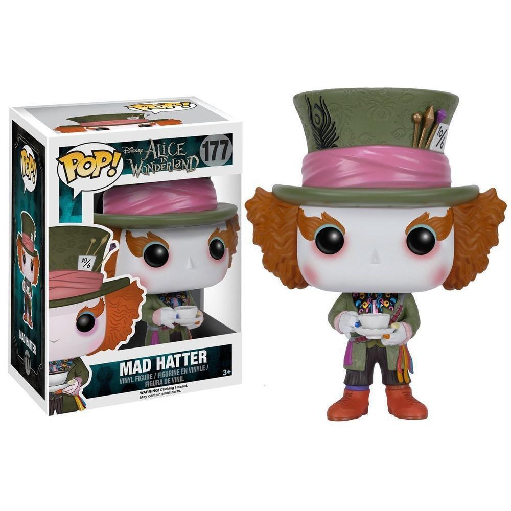 Funko Pop! Animation: Disney: Alice (Live Action) - Mad Hatter (Pre-Order)-Fumble Pop!