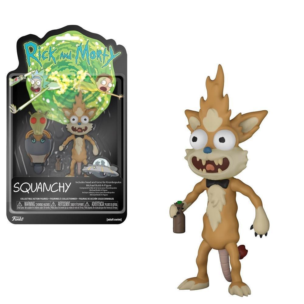 Funko Pop! Rick & Morty - Squanchy with Boots Funko Action Figure! Funko Vinyl Figure-Fumble Pop!