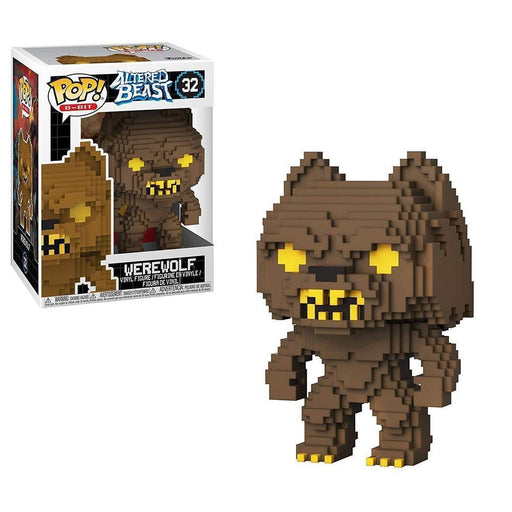 Funko Pop! Pop 8 Bit: Altered Beasts-GreekWarrior (Werewolf)-Fumble Pop!