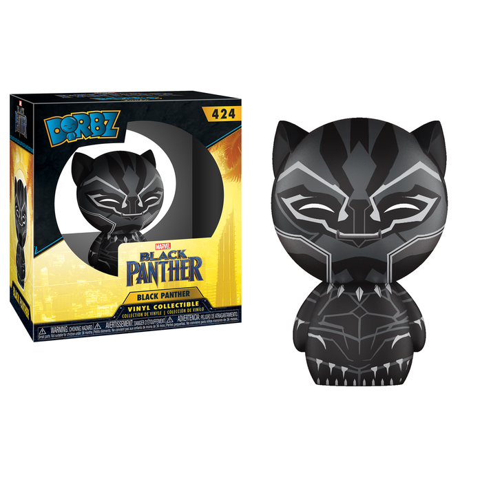 Funko Pop! Dorbz: Black Panther- Black Panther-Fumble Pop!