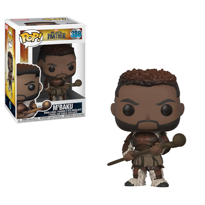 Funko Pop! Movies: Marvel: Black Panther - M'Baku (Vinyl Figure)-Fumble Pop!