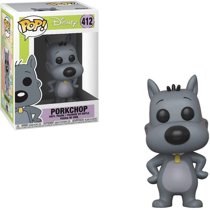 Funko Pop! Animation: Disney: Doug - Porkchop (Vinyl Figure)-Fumble Pop!