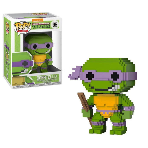 Funko Pop! 8-Bit Pop!: Ninja Turtles - Donatello-Fumble Pop!