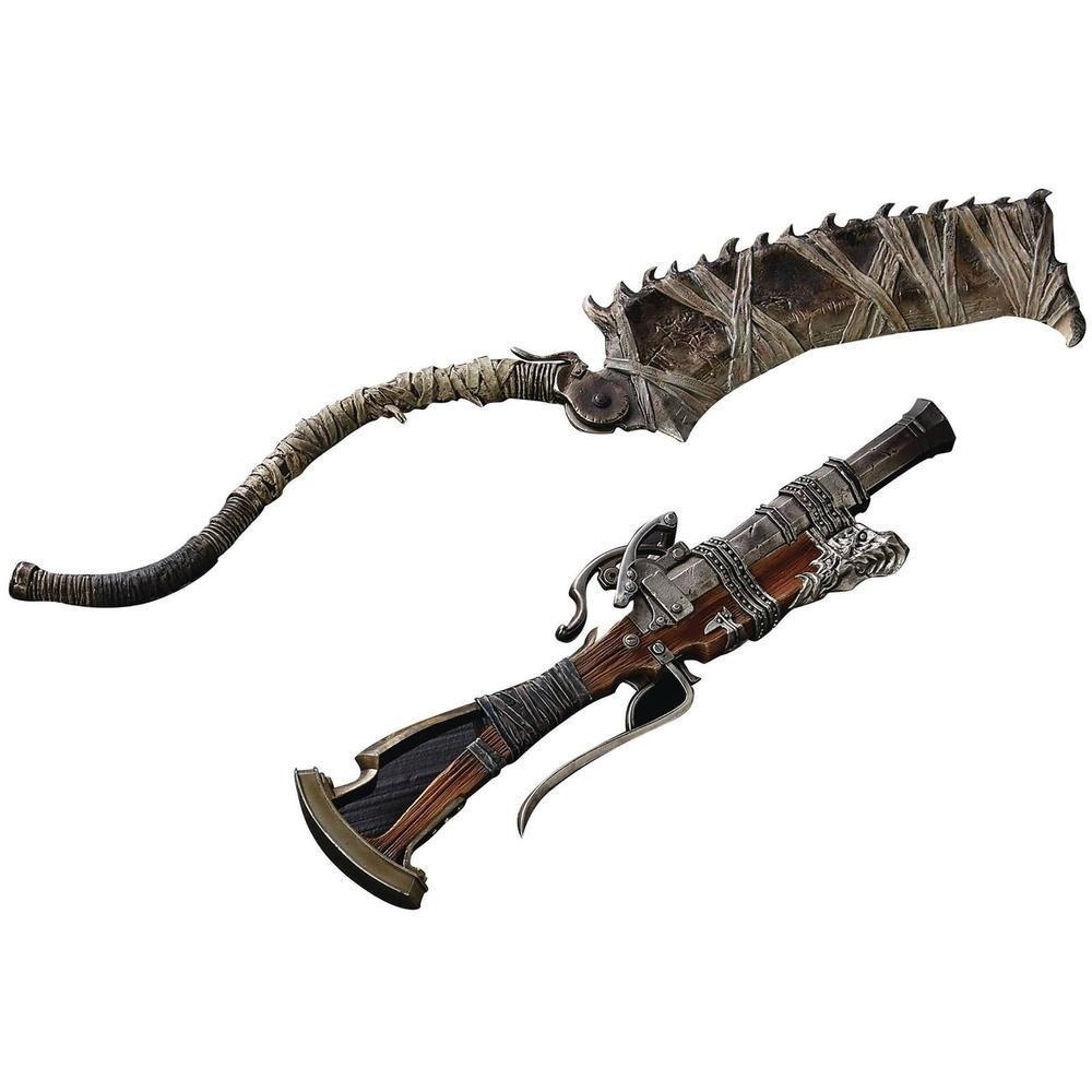 "Gecco Bloodborne / Hunter's Arsenal "" Saw Cleaver & Hunter Blunderbuss"" 1/6 Scale Weapon 1/6 Scale Weapon-Fumble Pop!"