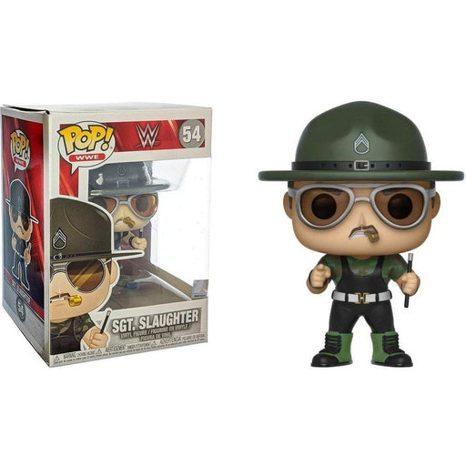 FUNKO Pop WWE: WWE - S8 - Sgt. Slaughter-Fumble Pop!