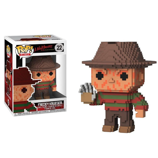 Funko Pop! Horror Movie - Freddy Krueger Funko 8-Bit Pop! (Pre-Order)-Fumble Pop!
