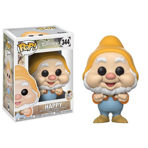 Funko Pop! Animation: Disney: Snow White - Happy (Vinyl Figure)-Fumble Pop!