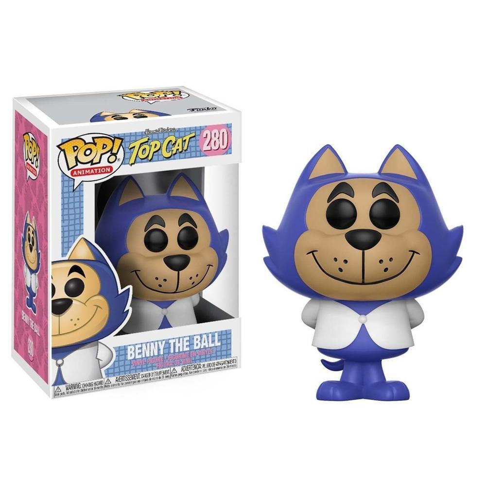 Funko Pop! Animation: Hanna Barbera W4 - Benny the Ball (Vinyl Figure)-Fumble Pop!
