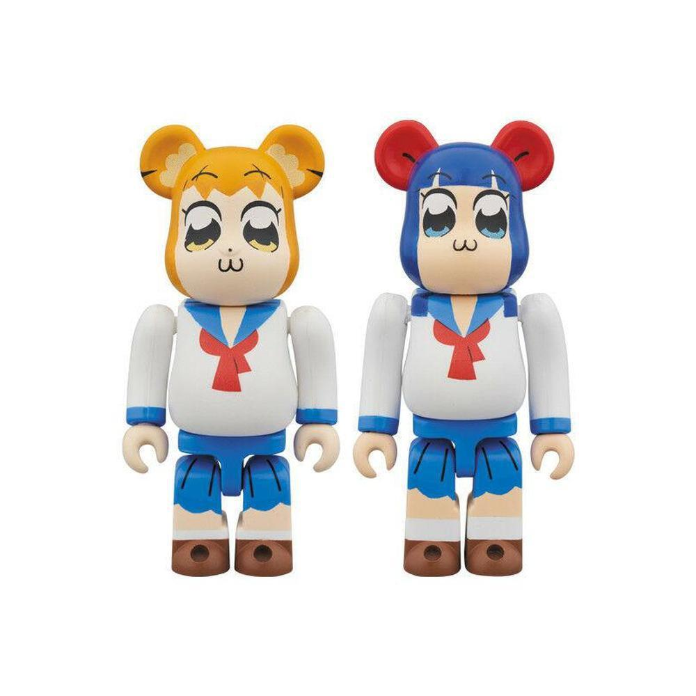 Medicom Toy BE@RBRICK Pop Team Epic 2 Pack 100% (Popuko and Pipimi set) BE@RBRICK-Fumble Pop!