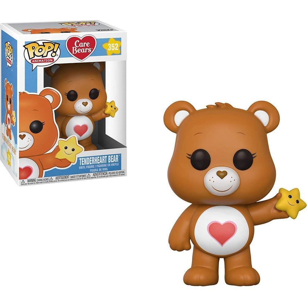Funko Pop! Animation: Care Bears - Tenderheart Bear (Vinyl Figure)-Fumble Pop!