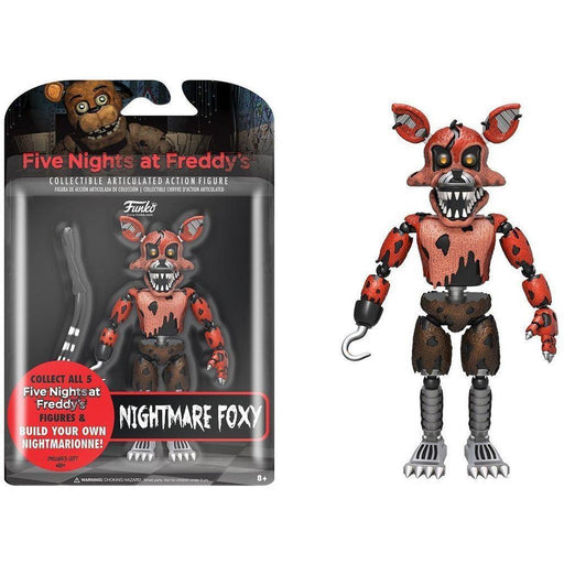Funko Pop! Articulated Action Figure: Five Nights At Freddy's - Funtime Foxy (Vinyl Figure)-Fumble Pop!