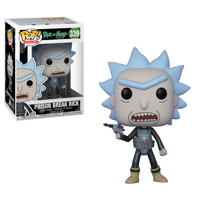Funko Pop! POP Animation: R&M- Prison Escape Rick-Fumble Pop!