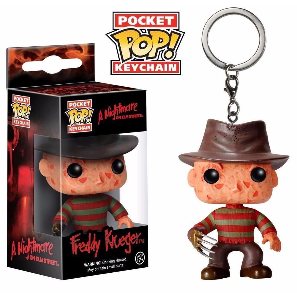 Funko Pop! Keychain: Horror - Freddy Kruger (Limited Edition, Keychain)-Fumble Pop!