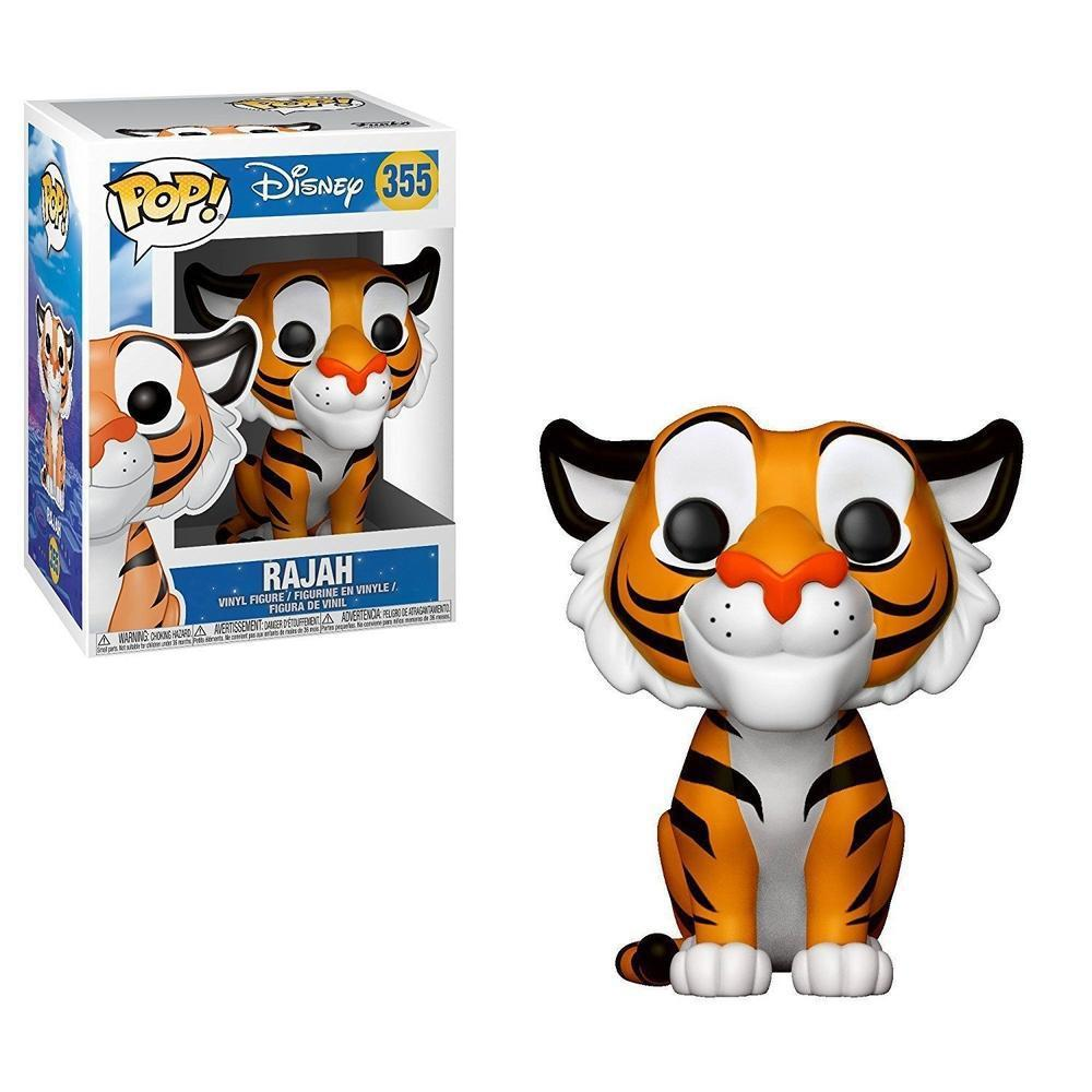 Funko Pop! Animation: Disney: Aladdin - Rajah (Vinyl Figure)-Fumble Pop!