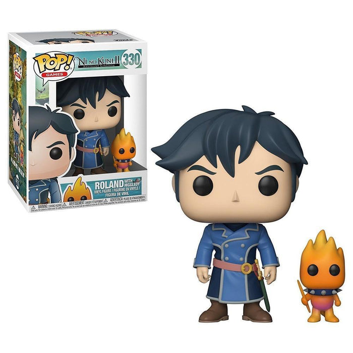 Funko Pop! POP & Buddy: Ni No Kuni S1 - Roland w/ Higgledy-Fumble Pop!